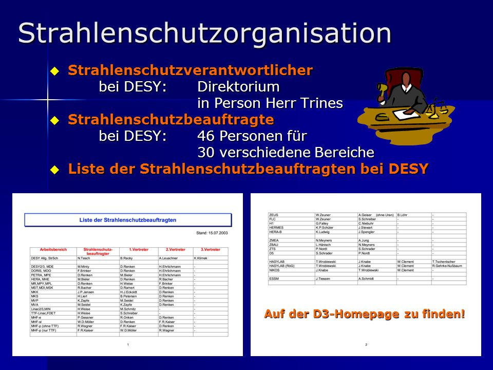 Strahlenschutzorganisation