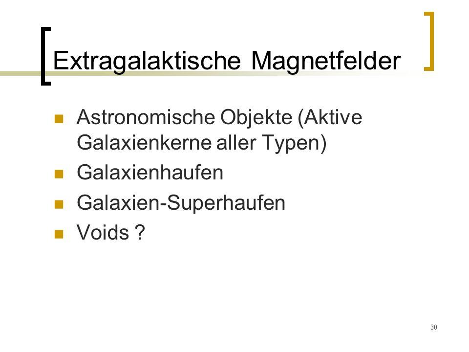 Extragalaktische Magnetfelder