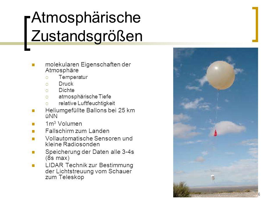 Atmosphärische Zustandsgrößen