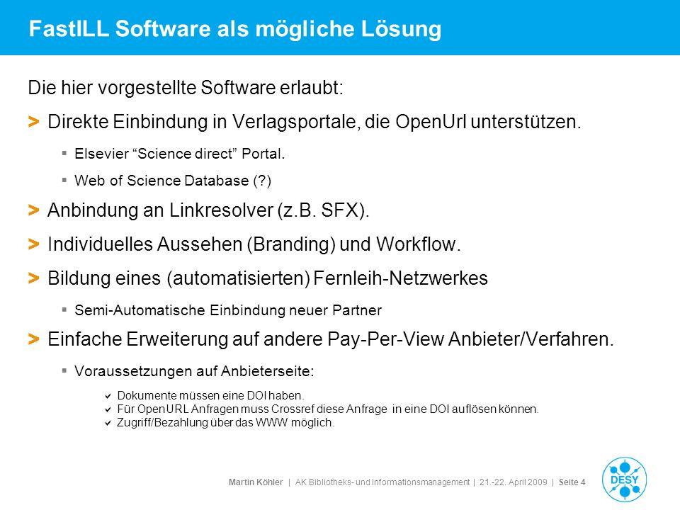 FastILL Software als mögliche Lösung