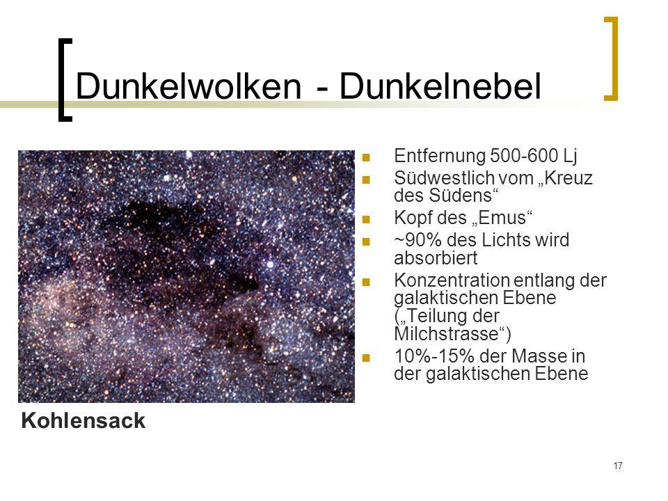 Dunkelwolken - Dunkelnebel