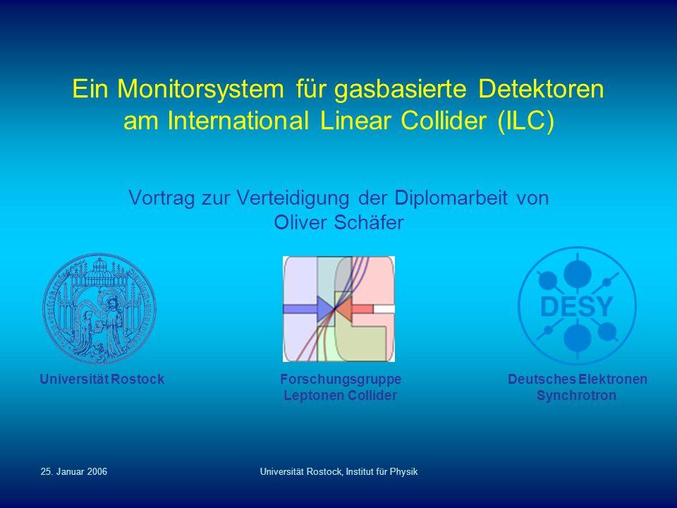 Vortrag zur Verteidigung der Diplomarbeit von Oliver Schäfer