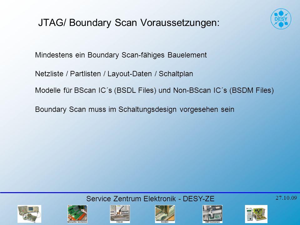JTAG/ Boundary Scan Voraussetzungen: