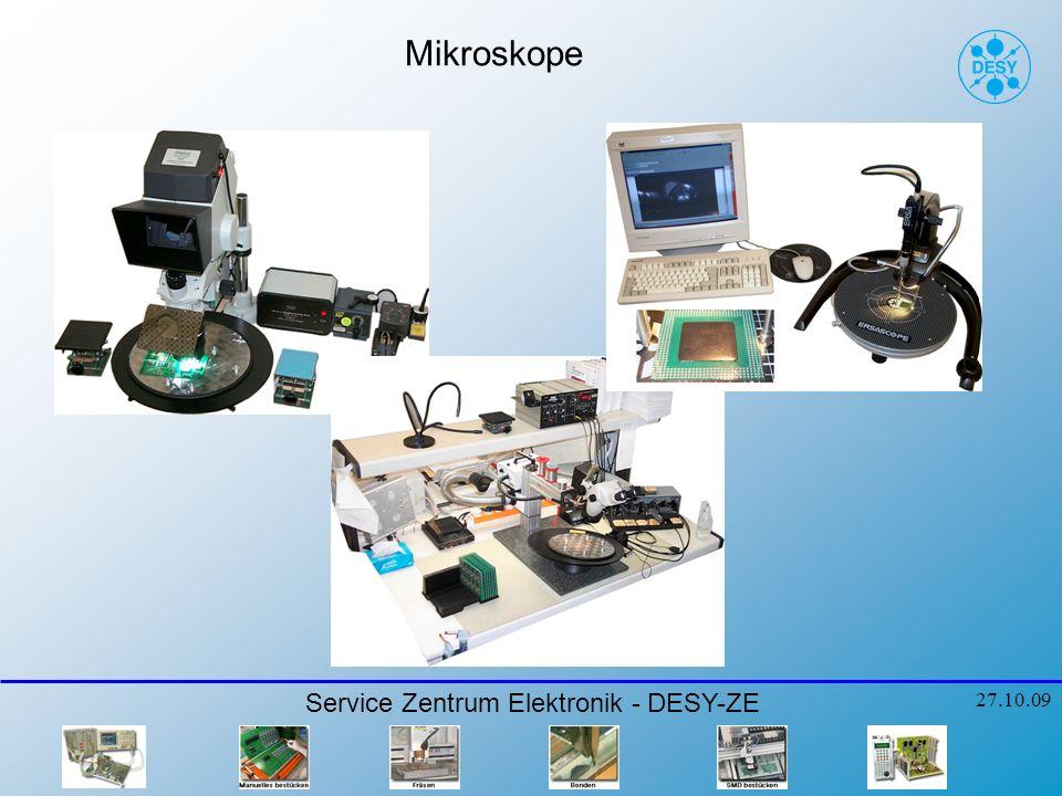 Service Zentrum Elektronik - DESY-ZE