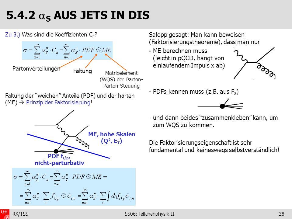 PDF fi/p, nicht-perturbativ