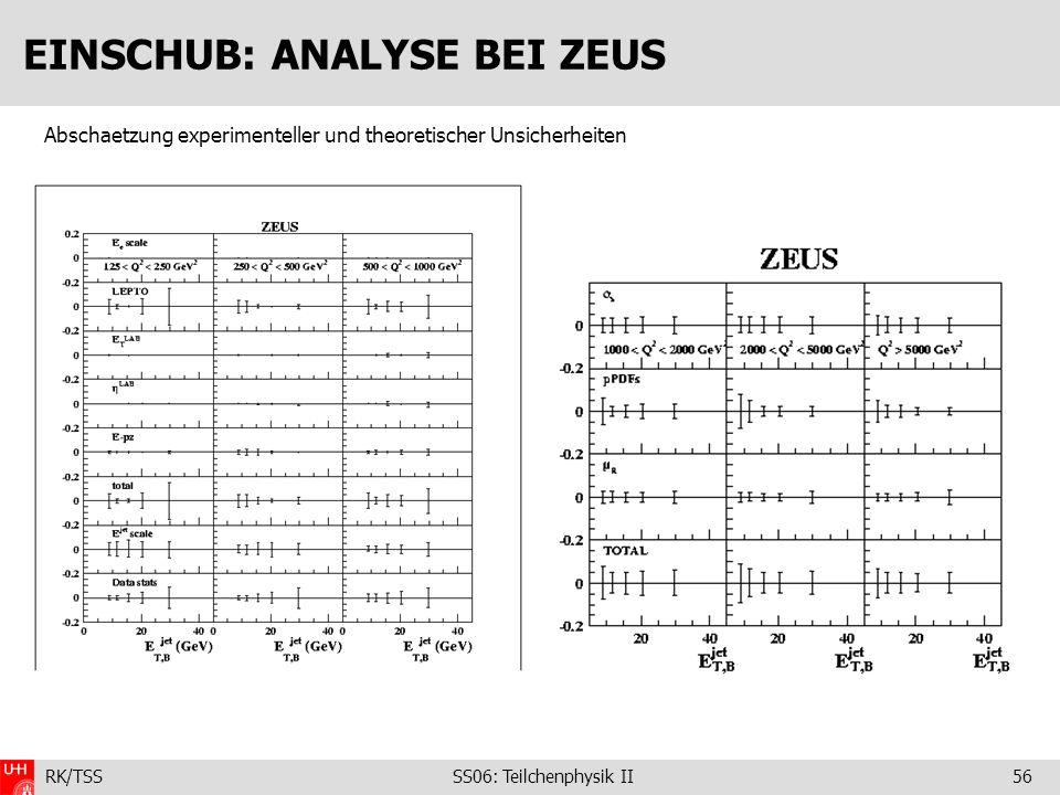 EINSCHUB: ANALYSE BEI ZEUS