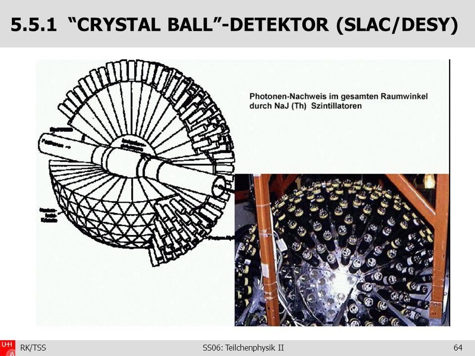 5.5.1 CRYSTAL BALL -DETEKTOR (SLAC/DESY)