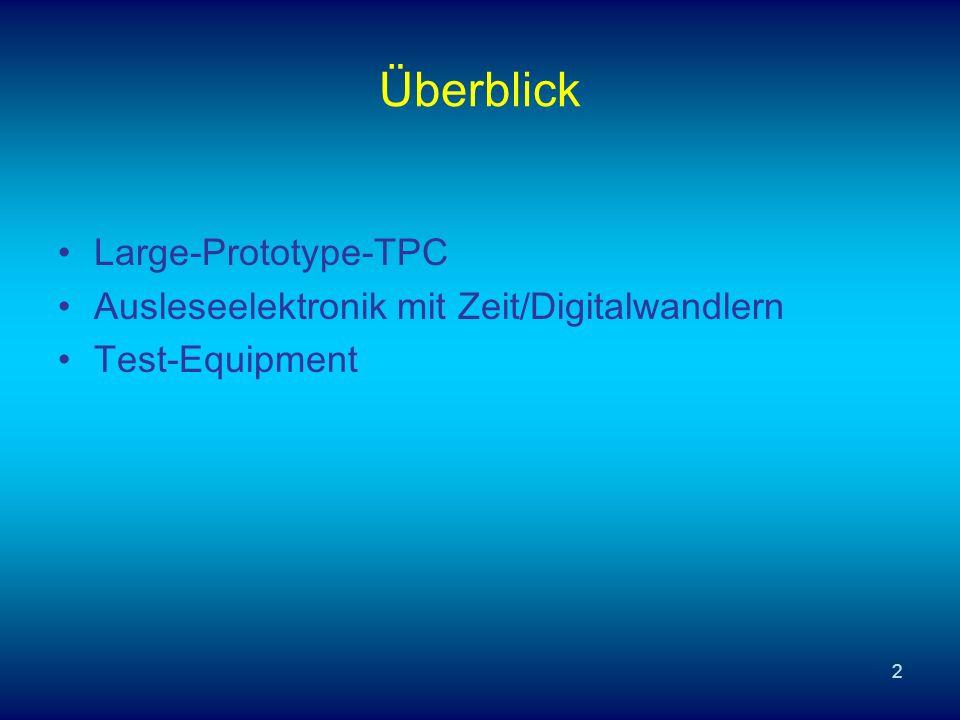 Überblick Large-Prototype-TPC