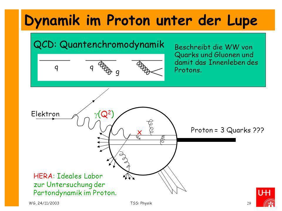 Dynamik im Proton unter der Lupe