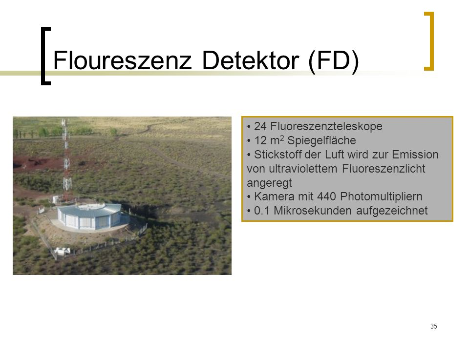 Floureszenz Detektor (FD)