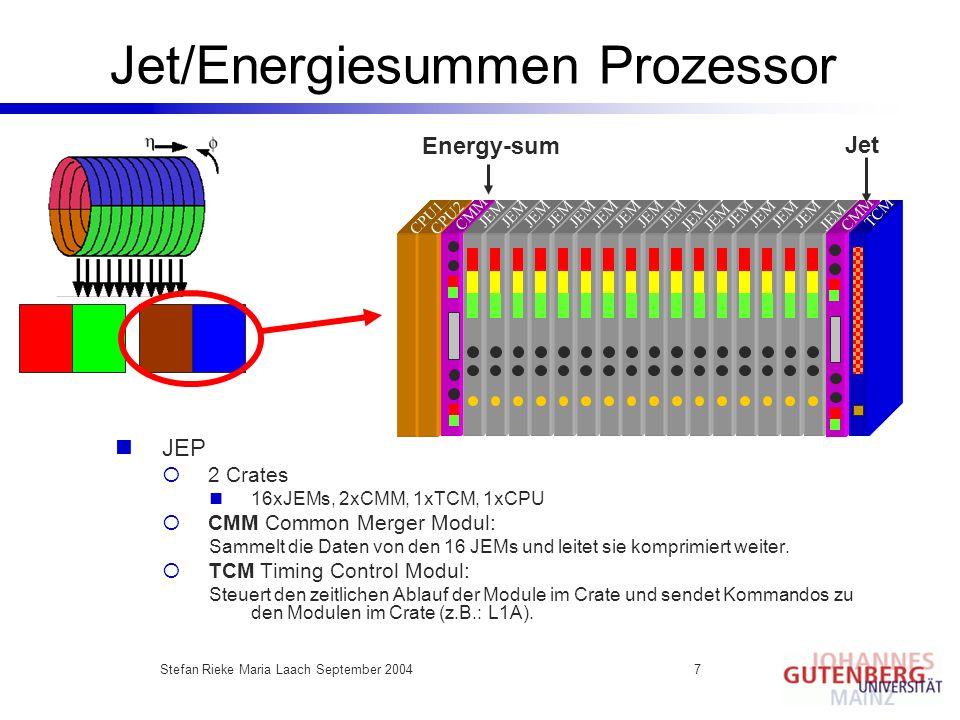 Jet/Energiesummen Prozessor