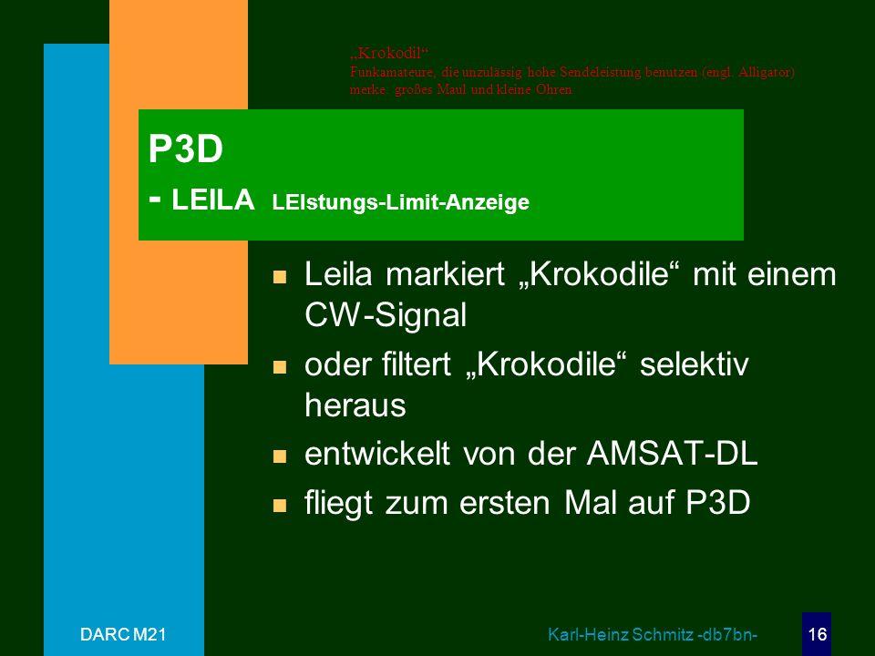 P3D - LEILA LEIstungs-Limit-Anzeige