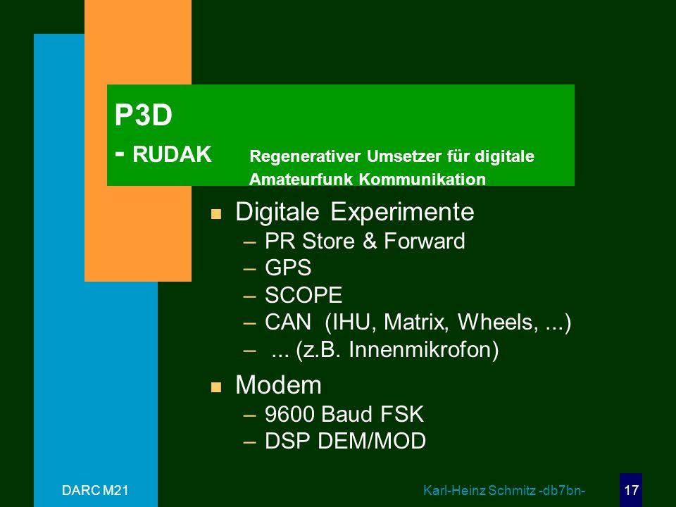 P3D - RUDAK. Regenerativer Umsetzer für digitale