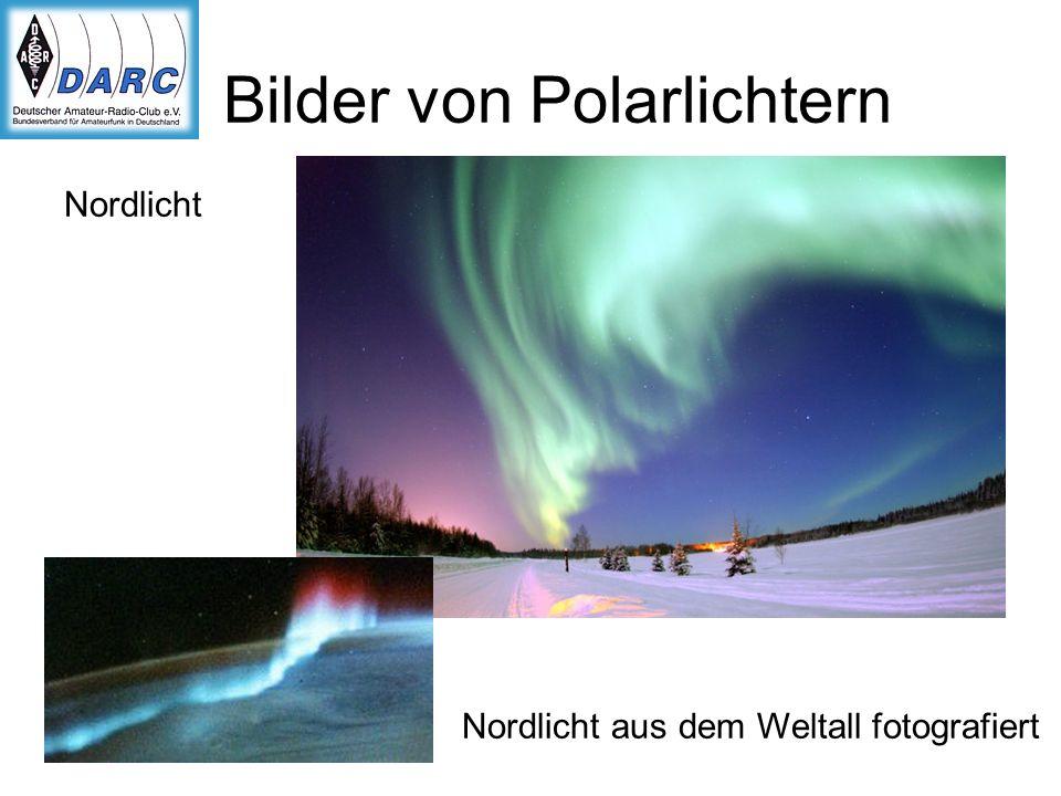 Bilder von Polarlichtern