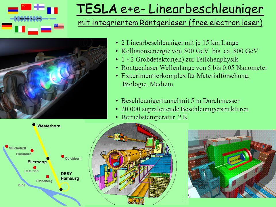 TESLA e+e- Linearbeschleuniger