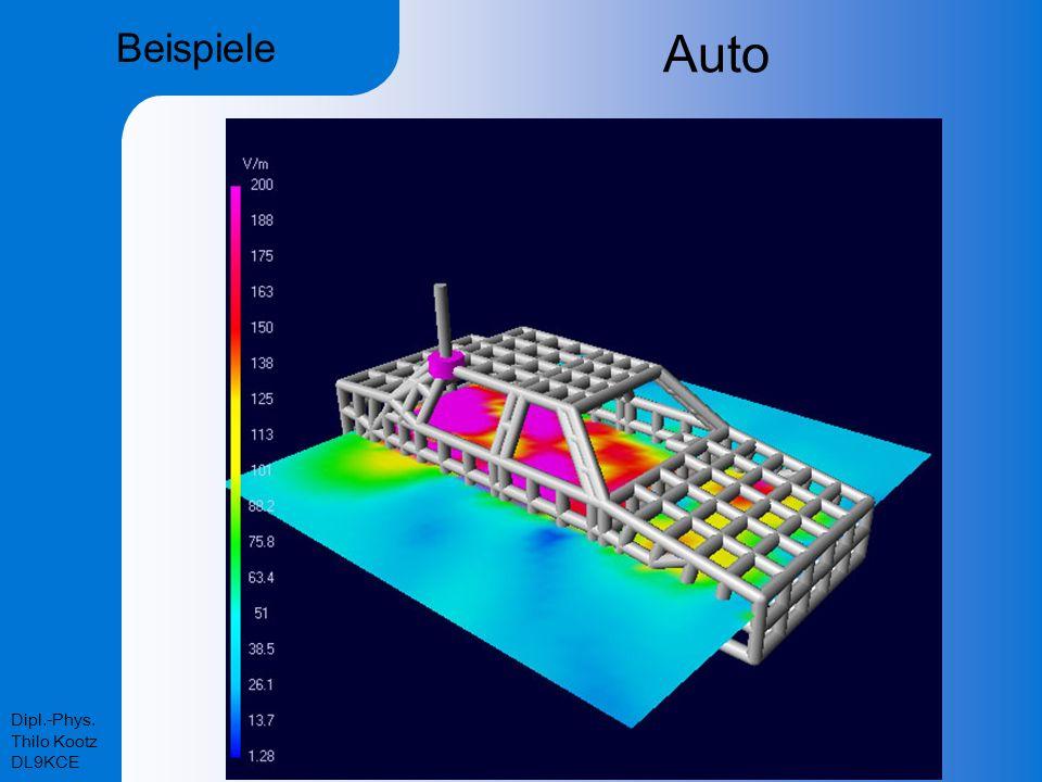 Beispiele Auto Dipl.-Phys. Thilo Kootz DL9KCE