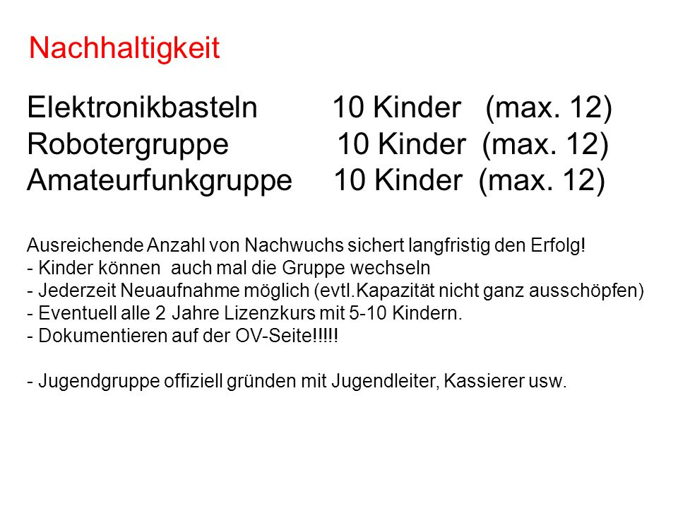 Elektronikbasteln 10 Kinder (max. 12)