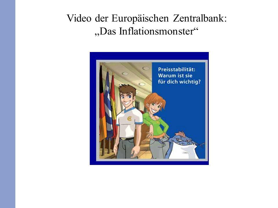"""Video der Europäischen Zentralbank: """"Das Inflationsmonster"""