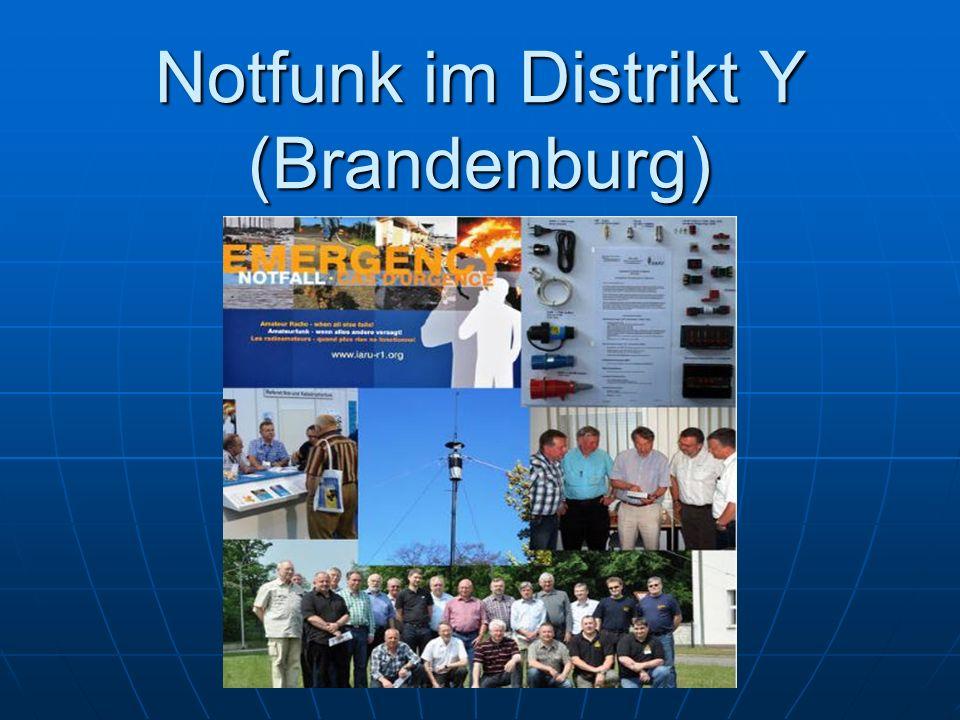 Notfunk im Distrikt Y (Brandenburg)