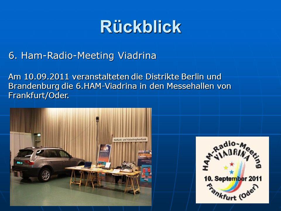 Rückblick 6. Ham-Radio-Meeting Viadrina