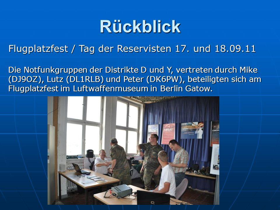 Rückblick Flugplatzfest / Tag der Reservisten 17. und 18.09.11