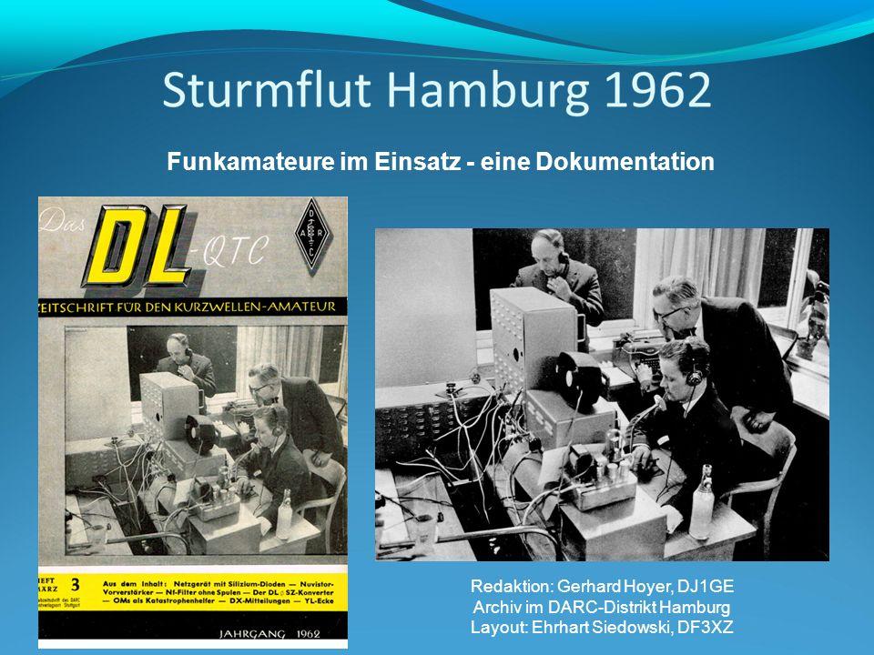 Funkamateure im Einsatz - eine Dokumentation