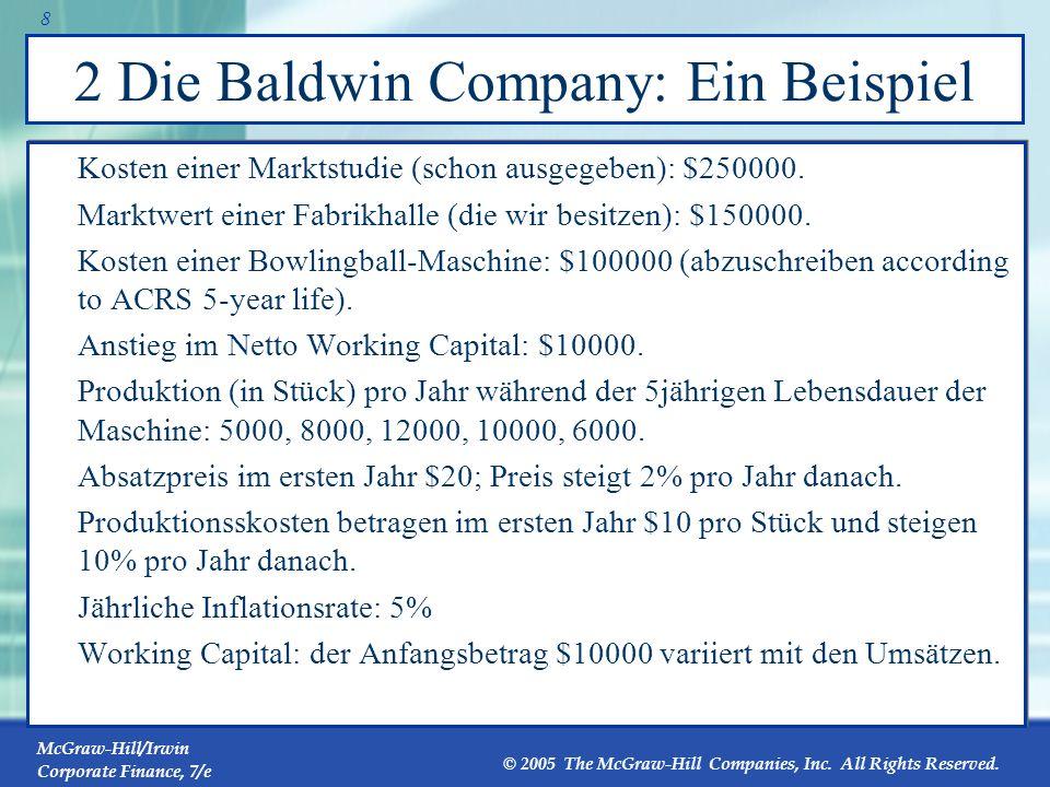 2 Die Baldwin Company: Ein Beispiel