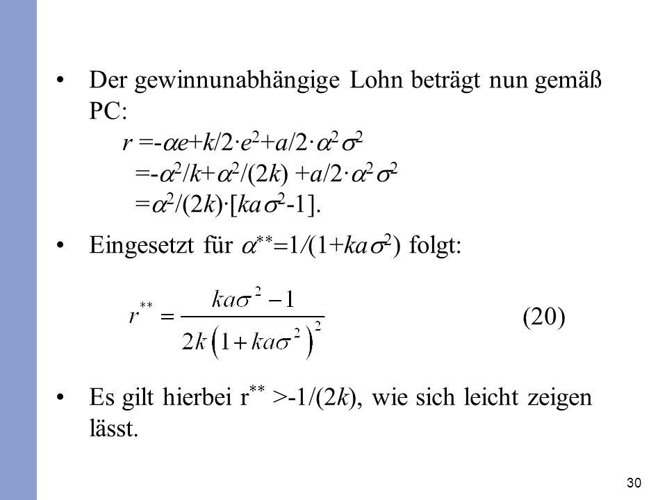 Eingesetzt für a**=1/(1+kas2) folgt: (20)