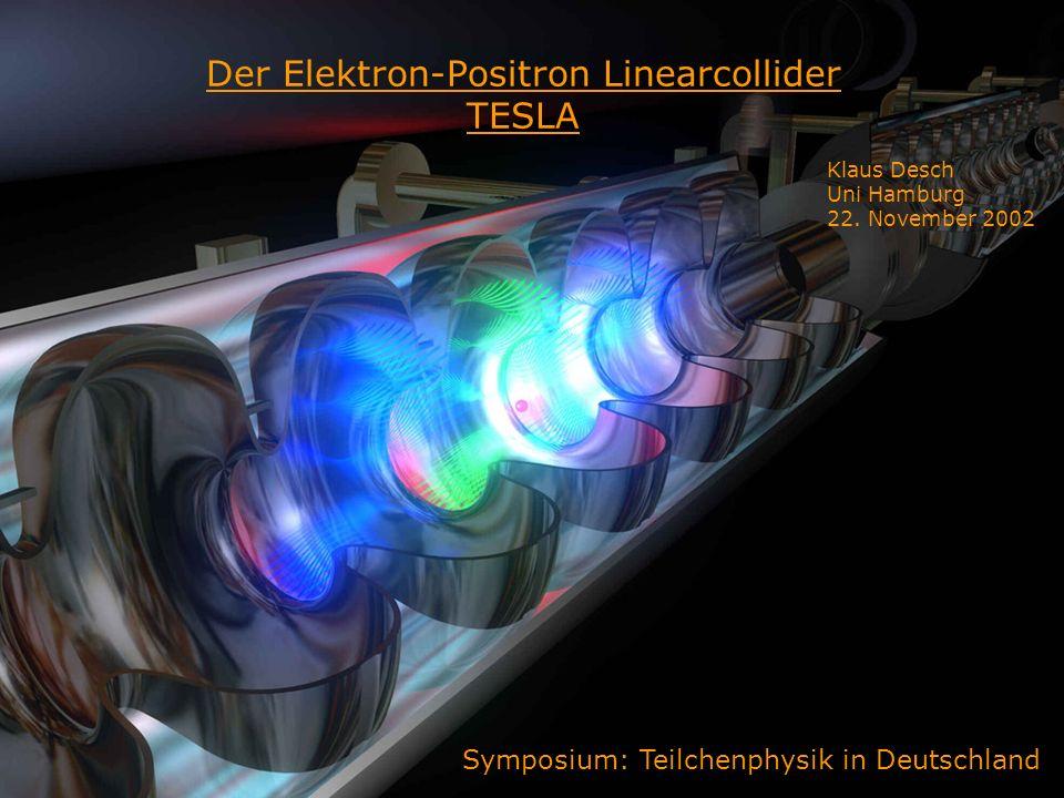 Der Elektron-Positron Linearcollider TESLA