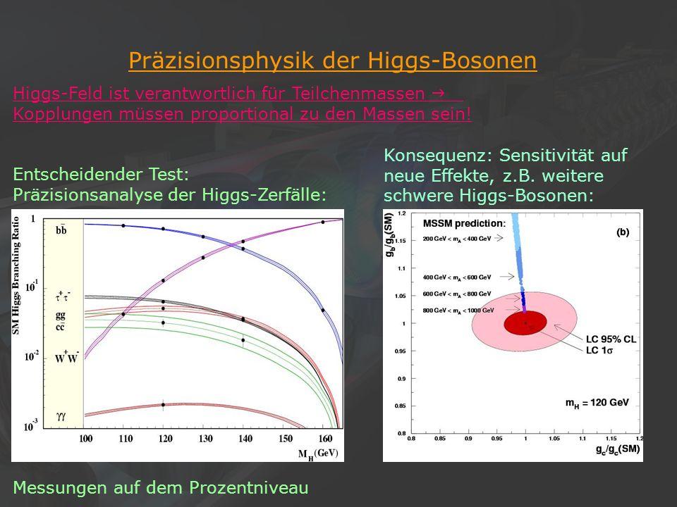 Präzisionsphysik der Higgs-Bosonen