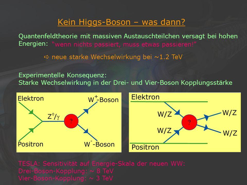 Kein Higgs-Boson – was dann