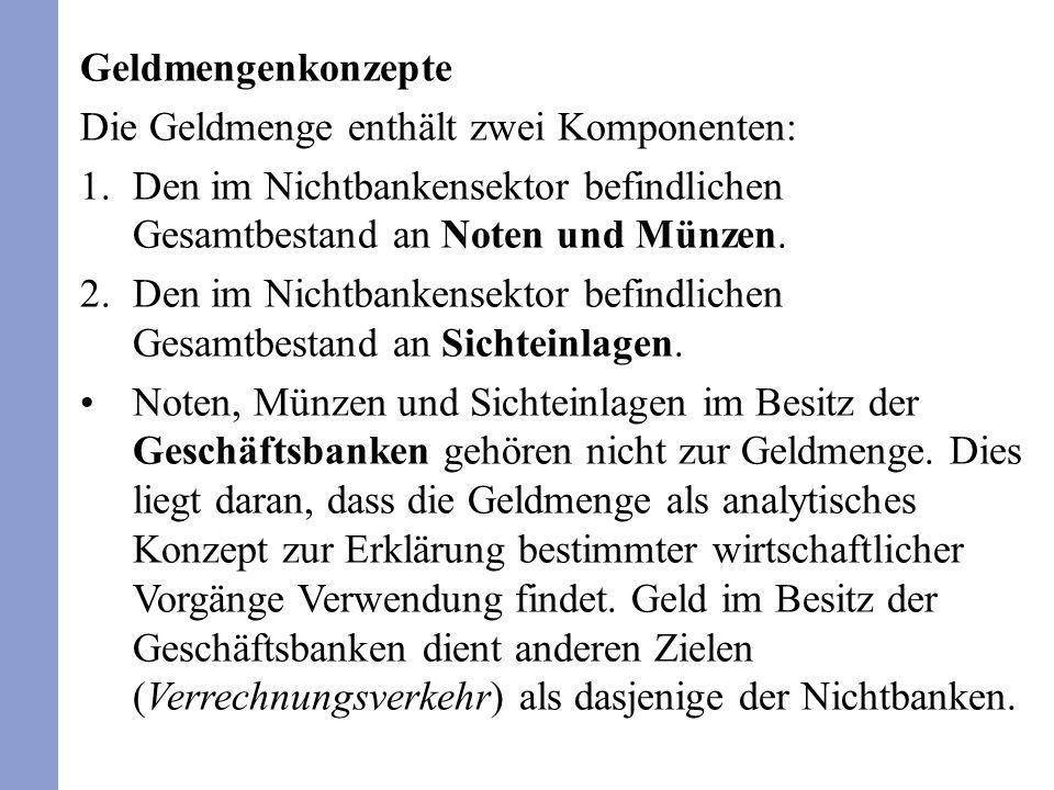 Funktionen des Geldes Tauschmittelfunktion (Wertübertragungsfunktion).