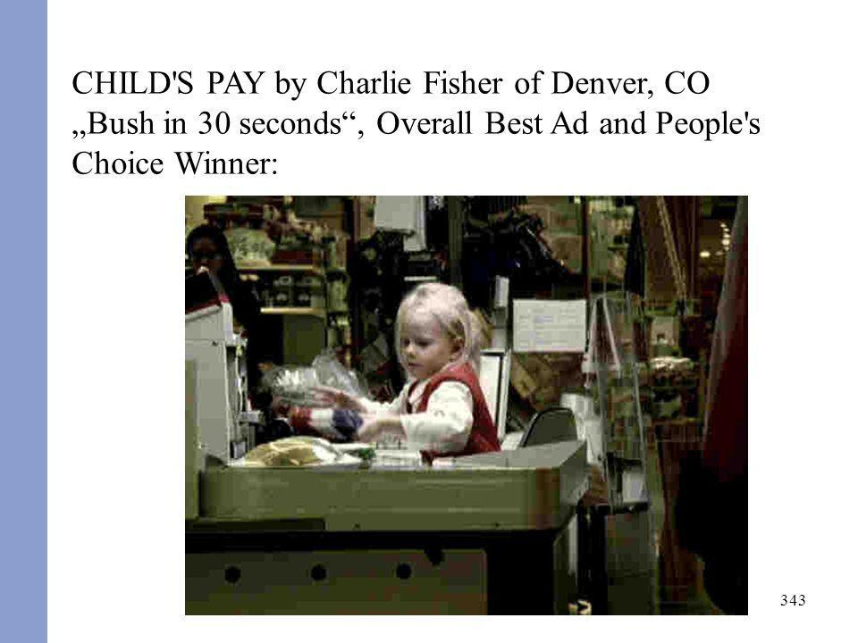 CHILD S PAY by Charlie Fisher of Denver, CO