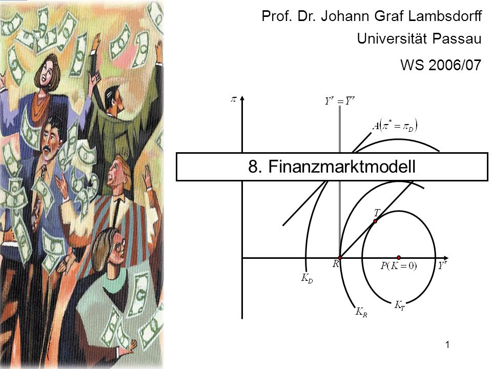 8. Finanzmarktmodell Prof. Dr. Johann Graf Lambsdorff