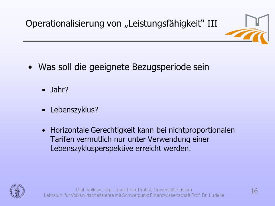 """Operationalisierung von """"Leistungsfähigkeit III"""