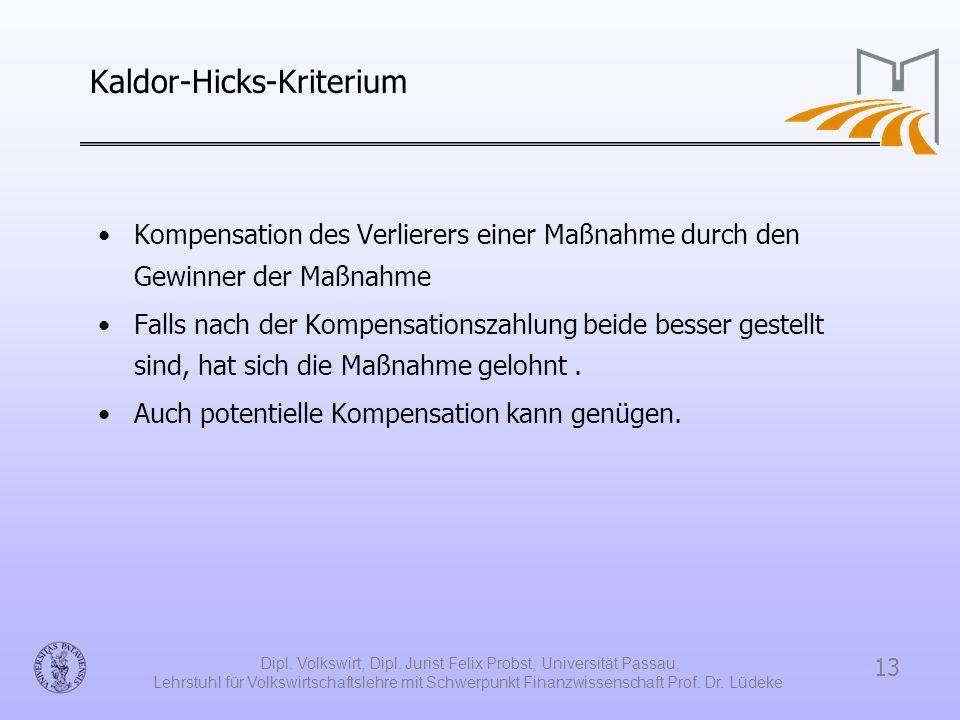 Kaldor-Hicks-Kriterium
