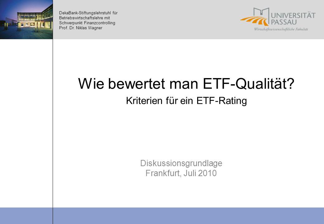 Wie bewertet man ETF-Qualität