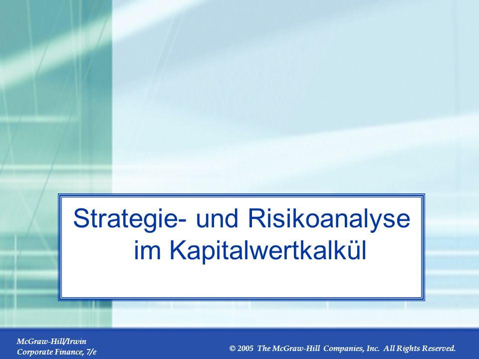 Strategie- und Risikoanalyse im Kapitalwertkalkül