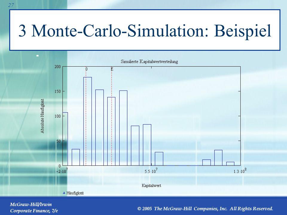 3 Monte-Carlo-Simulation: Beispiel