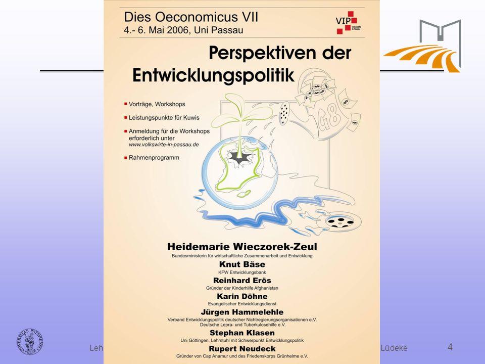 Dipl. Volksw. Dr. Hanjo Allinger, Universität Passau,