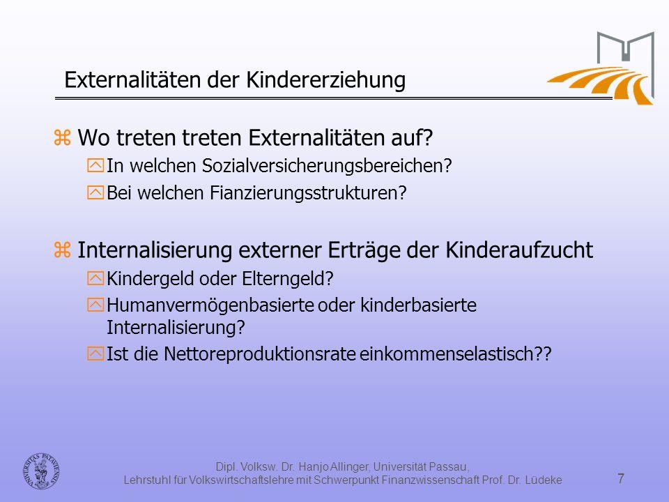 Externalitäten der Kindererziehung