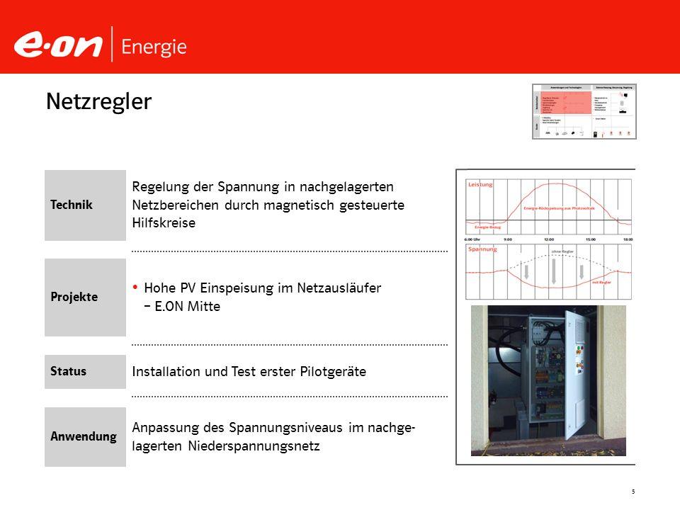 Netzregler Technik. Regelung der Spannung in nachgelagerten Netzbereichen durch magnetisch gesteuerte Hilfskreise.