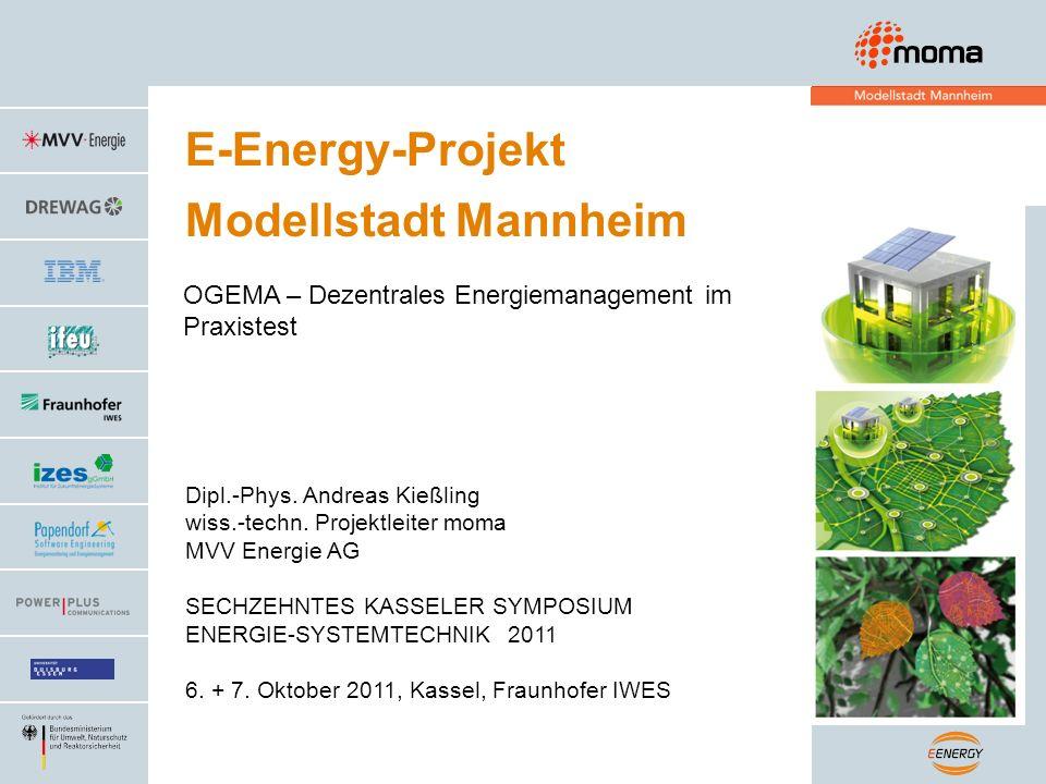 E-Energy-Projekt Modellstadt Mannheim