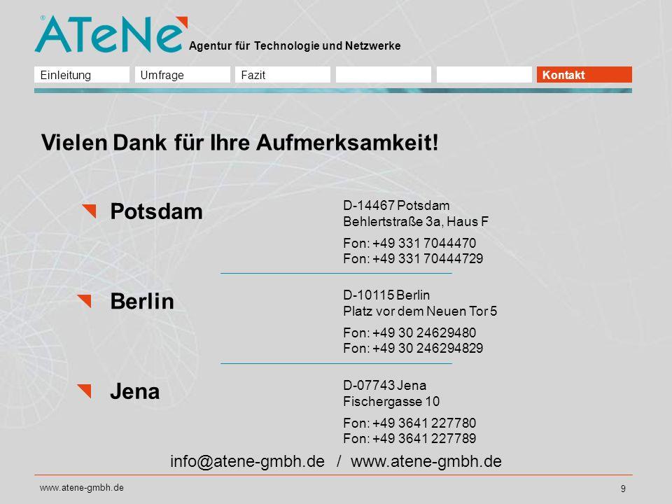 info@atene-gmbh.de / www.atene-gmbh.de