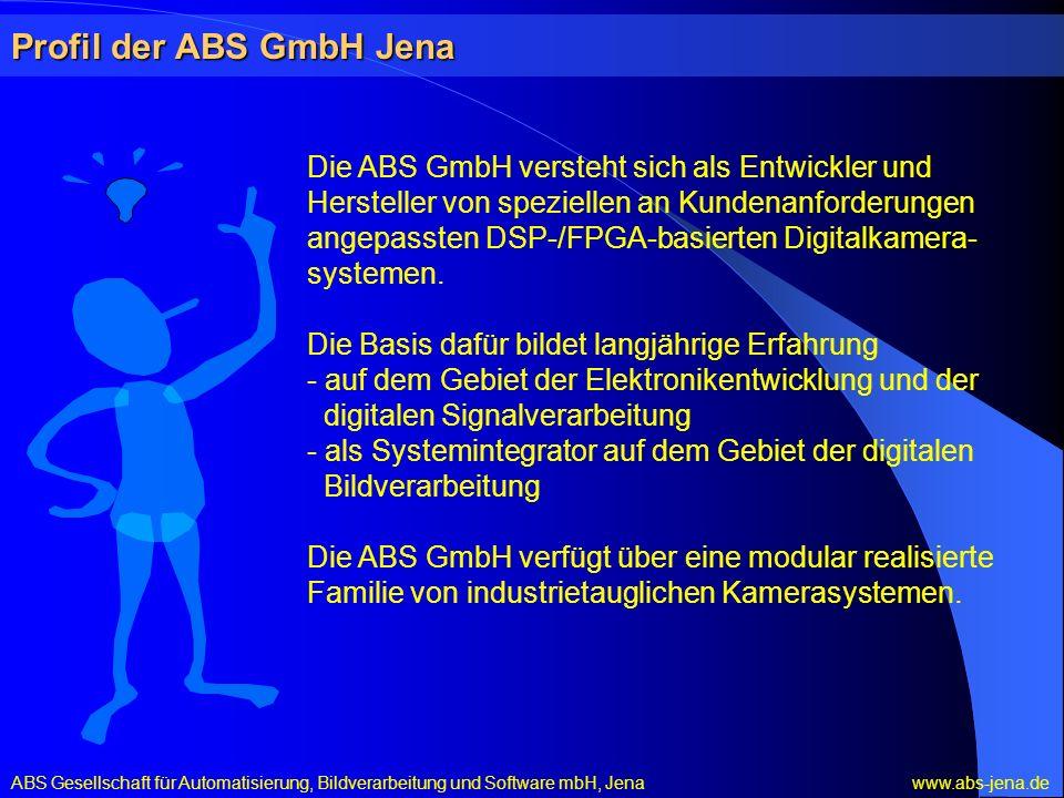 Profil der ABS GmbH Jena