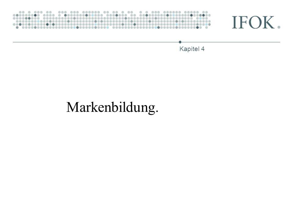 Kapitel 4 Markenbildung.