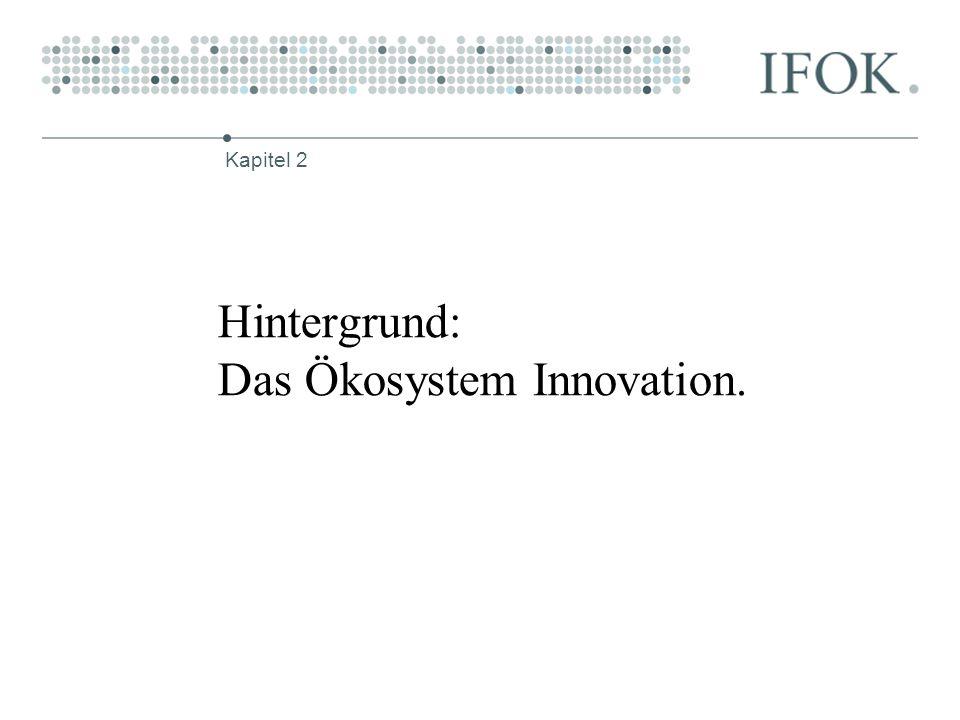 Hintergrund: Das Ökosystem Innovation.
