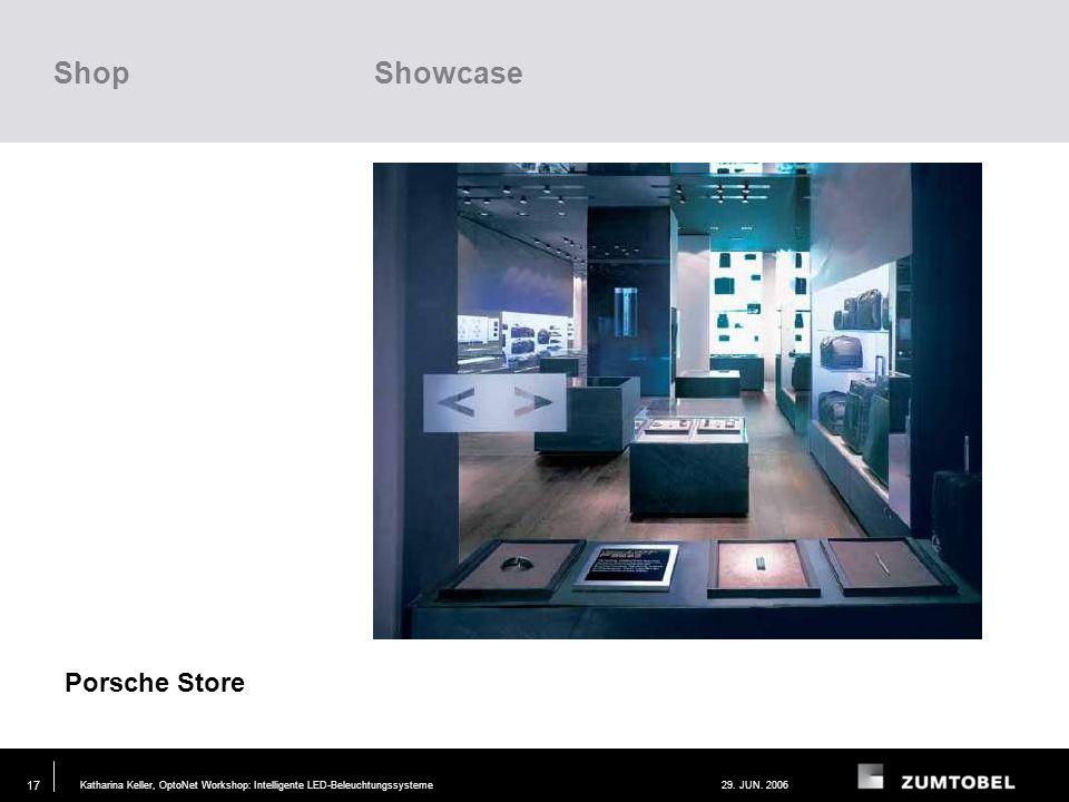 Shop Showcase Porsche Store