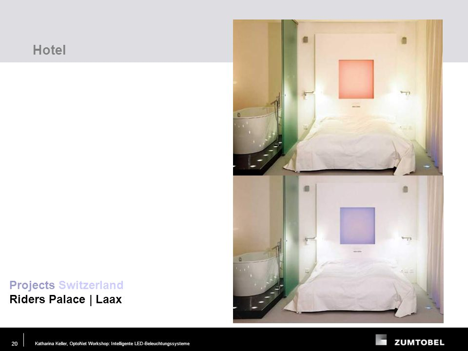 Hotel Projects Switzerland Riders Palace | Laax Lighting task