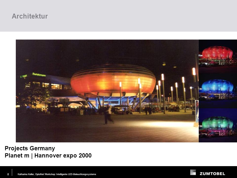 Architektur Projects Germany Planet m | Hannover expo 2000